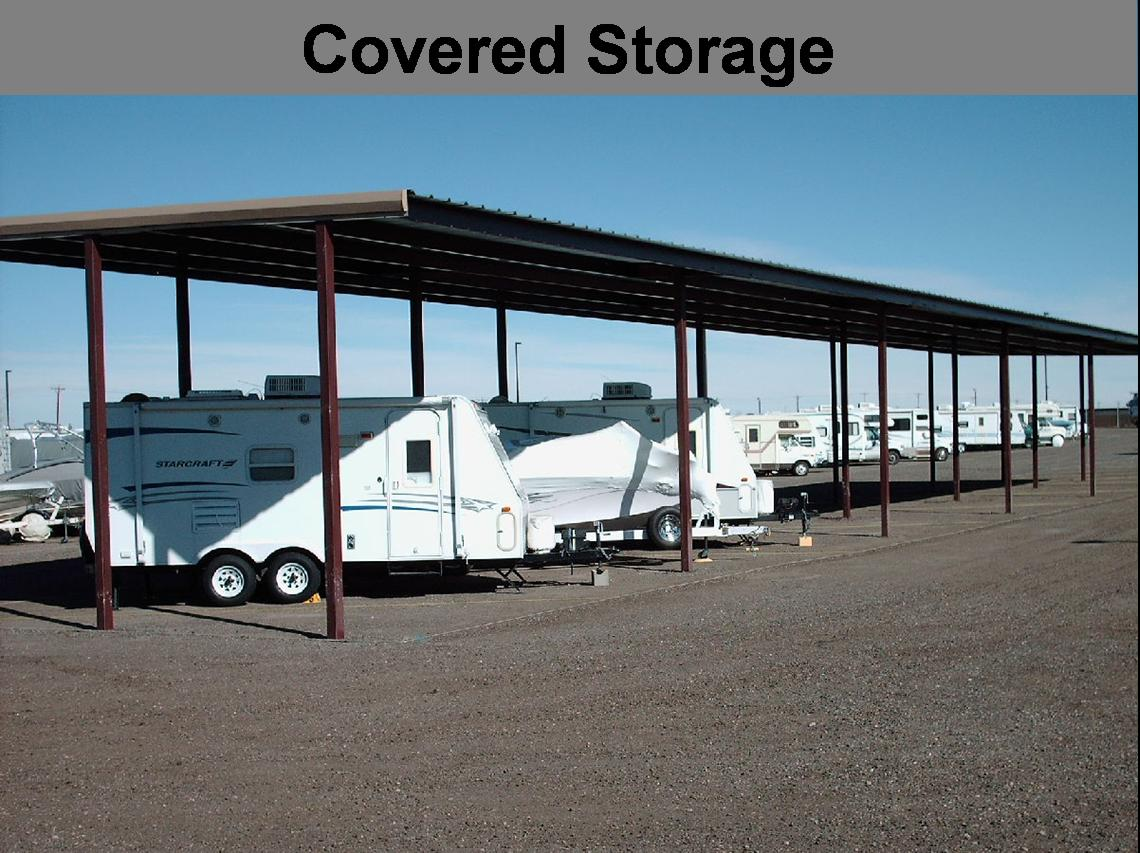 Secure Storage | RV Trailer Camper Boat | Indoor Covered Outdoor | Colorado