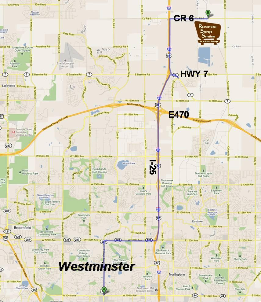 Trailer Storage: Trailer Storage Westminster Co